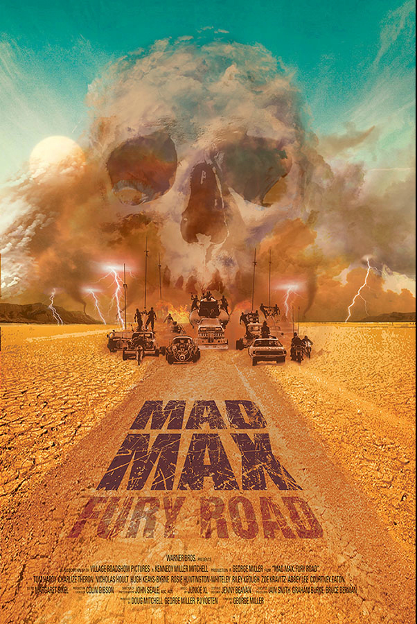 FilmDoo Competition Winning Poster Mad Max