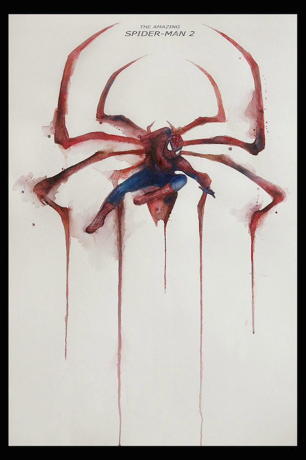 FilmDoo Competition Winning Poster Spider Man