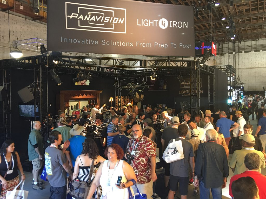 Panavision & Light Iron Booth at Cine Gear Expo 2016
